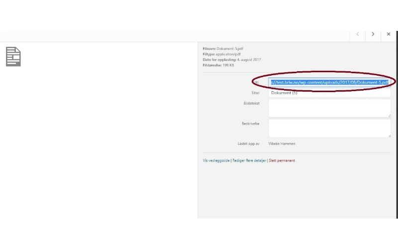 Legg til en klikkbar PDF i Divi - WordPress